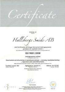 Certifikat ISO-9001